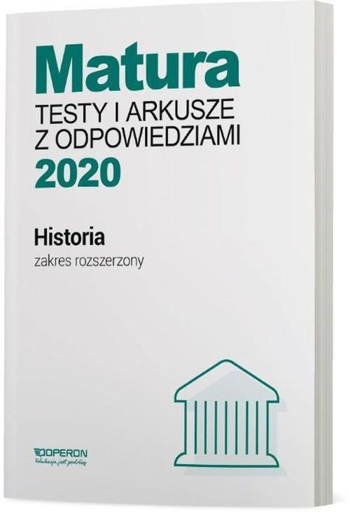 matura historia vademecum 2020 zakres rozszerzony