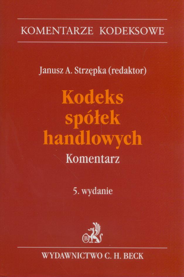 Kodeks prawa handlowego 2011 pdf