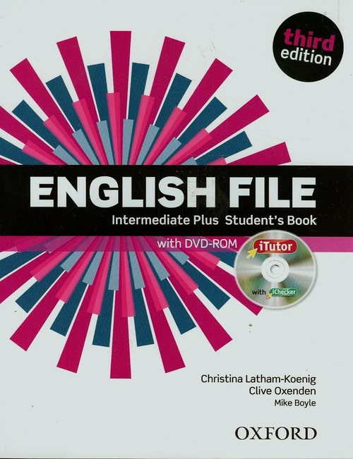 English File Intermediate Plus Student`s Book with DVD-ROM