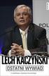 Kaczyński Lech, Warzecha Łukasz - Ostatni wywiad Lech Kaczyński (dodruk 2016)