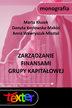 Zarządzanie finansami grupy kapitałowej