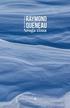 Queneau Raymond - Sroga zima