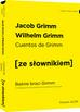 Grimm Jacob, Grimm Wilhelm - Cuentos de Grimm - Baśnie braci Grimm z podręcznym słownikiem hiszpańsko-polskim poziom A2-B1