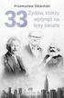Słowiński Przemysław - 33 Żydów, którzy wpłynęli na losy świata. Od Mojżesza do Kevina Mitnicka (wyd. 2020)