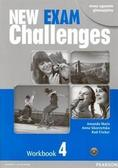 Michael Harris, David Mower, Anna Sikorzyńska - Exam Challenges New 4 WB PEARSON