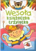 praca zbiorowa - Wesoła książeczka trzylatka LITERKA