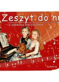 Zeszyt do nut z szeroką pięciolinią w.2013