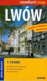 Comfort!map Lwów 1:10 000 midi laminat