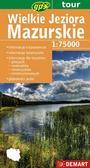 praca zbiorowa - Wielkie Jeziora Mazurskie mapa turystyczna 1:75000