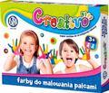 Farby do malowania palcami 4x50 ml ASTRA