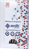Wkład do długopisu 4/20 czarny (20szt) ZENITH