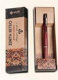 Długopis Zenith 7 Retro w etui bordowy ZENITH