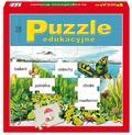 Puzzle edukacyjne. Ortograficzne kwiatki