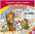 praca zbiorowa - Bajki - Grajki. Przygody trzech urwisów CD