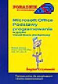 Krzymowski B. - Microsoft Office. Podstawy programowania w języku Visual Basic dla Aplikacji
