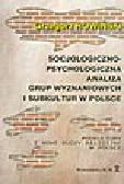 Rowiński G. - Socjologiczno-psychologiczna analiza grup wyznaniowych i subkultur w Polsce. Podkultury i nowe ruchy religijne w Polsce