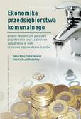 Kłoss-Trębaczkiewicz Halina, Osuch-Pajdzińska Elżbieta - Ekonomika przedsiębiorstwa komunalnego. Prawno-ekonomiczne podstawy projektowania taryf za zbiorowe zaopatrzenie w wodę i zbiorowe odprowadzanie ścieków
