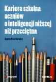 Aneta Paszkiewicz - Kariera szkolna uczniów o int. niższej niż przec.