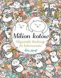 Lulu Mayo - Milion kotów. Wspaniałe ilustracje do kolorowania