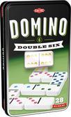 Domino klasyczne szóstkowe (w puszce z oknem)