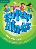 Puchta Herbert, Gerngross Günter - Super Minds 2 Class Audio 3 CD