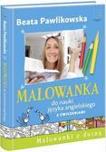 Beata Pawlikowska - Malowanka do nauki j. angielskiego z ćwiczeniami