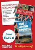 praca zbiorowa - Pakiet- Miks poradników dla pasjonatów biegania