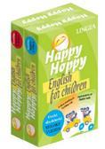Happy Hoppy Fiszki dla dzieci pakiet angielski. (Cechy i relacje + Kolory i liczby)