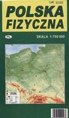 Polska fizyczna-mapa