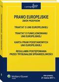 Prawo Europejskie - zbiór przepisów