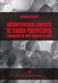 Grygier Dominika - Nanokrystalizacja cementytu w stalach perlitycznych stosowanych na druty kordowe do opon