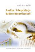 Jasiński Leszek Jerzy - Analiza i interpretacja badań ekonomicznych
