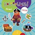 Opracowanie zbiorowe - Kolorowanki z naklejkami. Piraci