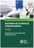 Beata Chanowska-Dymlang, Paweł Dymlang - Egzamin na doradcę podatkowego. Testy
