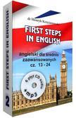 Krzyżanowski Henryk - First Steps in English 2 +6CD+MP3. Angielski dla średnio zaawansowanych część 13-24