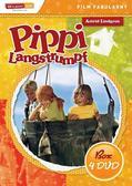 praca zbiorowa - Pippi Langstrumpf ( BOX 4xDVD)