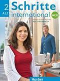 Urszula Krajewska, Agnieszka Mizak - Schritte international Neu 2 KB+AB+CD PL HUEBER