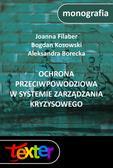 Joanna Filaber, Bogdan Kosowski, Aleksandra Borecka - Ochrona przeciwpowodziowa w systemie zarządzania kryzysowego
