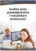 Jakub Kornacki - Analiza zysku przedsiębiorstwa i wskaźników rentowności