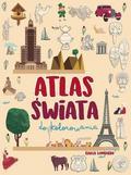 Giulia Lombardo (ilustr.) - Atlas świata do kolorowania