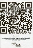 Jarosz Józef - Grabinschrift - eine Textsorte im Wandel. Eine diachrone Studie am deutschen epigrafischen Material 1780-2015