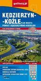 praca zbiorowa - Plan miasta - Kędzierzyn-Koźle (powiat) 1:20 000