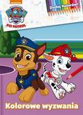 praca zbiorowa - Psi Patrol. Dodaj Kolorów! Kolorowe wyzwania