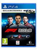 F1 2018 Edycja Mistrzowska PS4