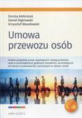 Ambożuk Dorota, Dąbrowski Daniel, Wesołowski Krzysztof - Umowa przewozu osób
