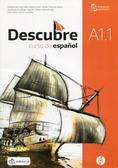 praca zbiorowa - Descubre A1.1 podręcznik + CD DRACO