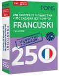 praca zbiorowa - 250 ćwiczeń/250 zagadek słownictwo. Francuski 2w1