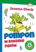 Joanna Olech - Pompon w rodzinie Fisiów. z audiobookiem