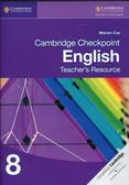 Cox Marian - Cambridge Checkpoint English Teacher`s Resource 8