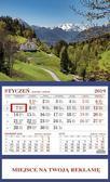 Kalendarz 2019 Jednodzielny Góry. 1256 Góry